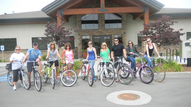 Summit Dental Group On Their 2nd Annual Bike Tour!