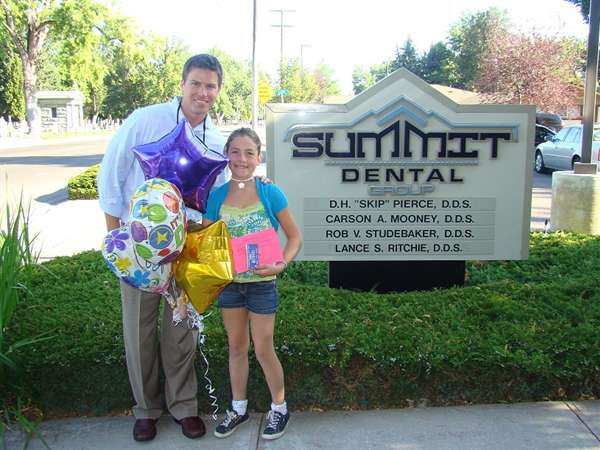 Julia Wolfe is the winner for this month's Cavity Free Super Star Award!