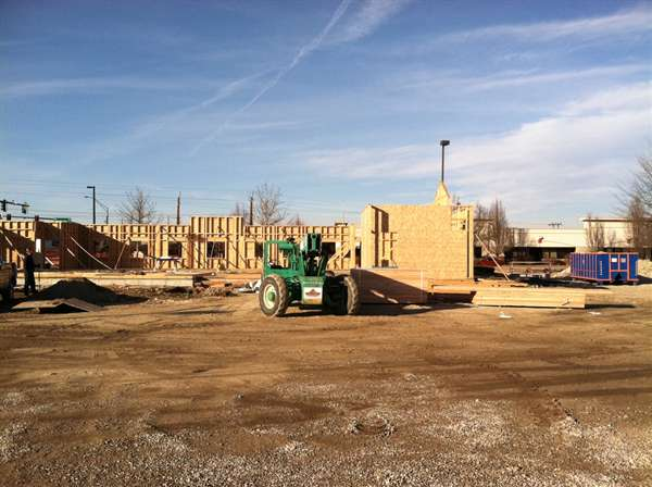 New Dental Office Building Progress